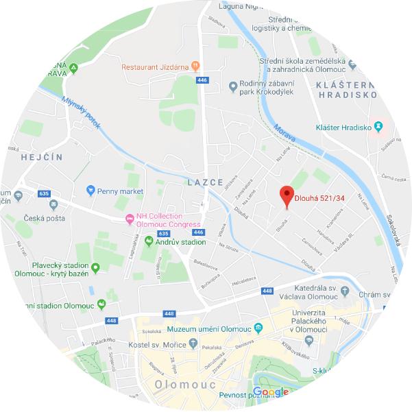 Ocni ambulance Dlouha 521/34 Olomouc